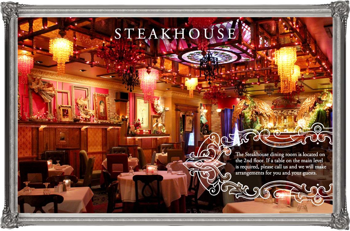 Steakhouse Menu The Tavern Libertyville